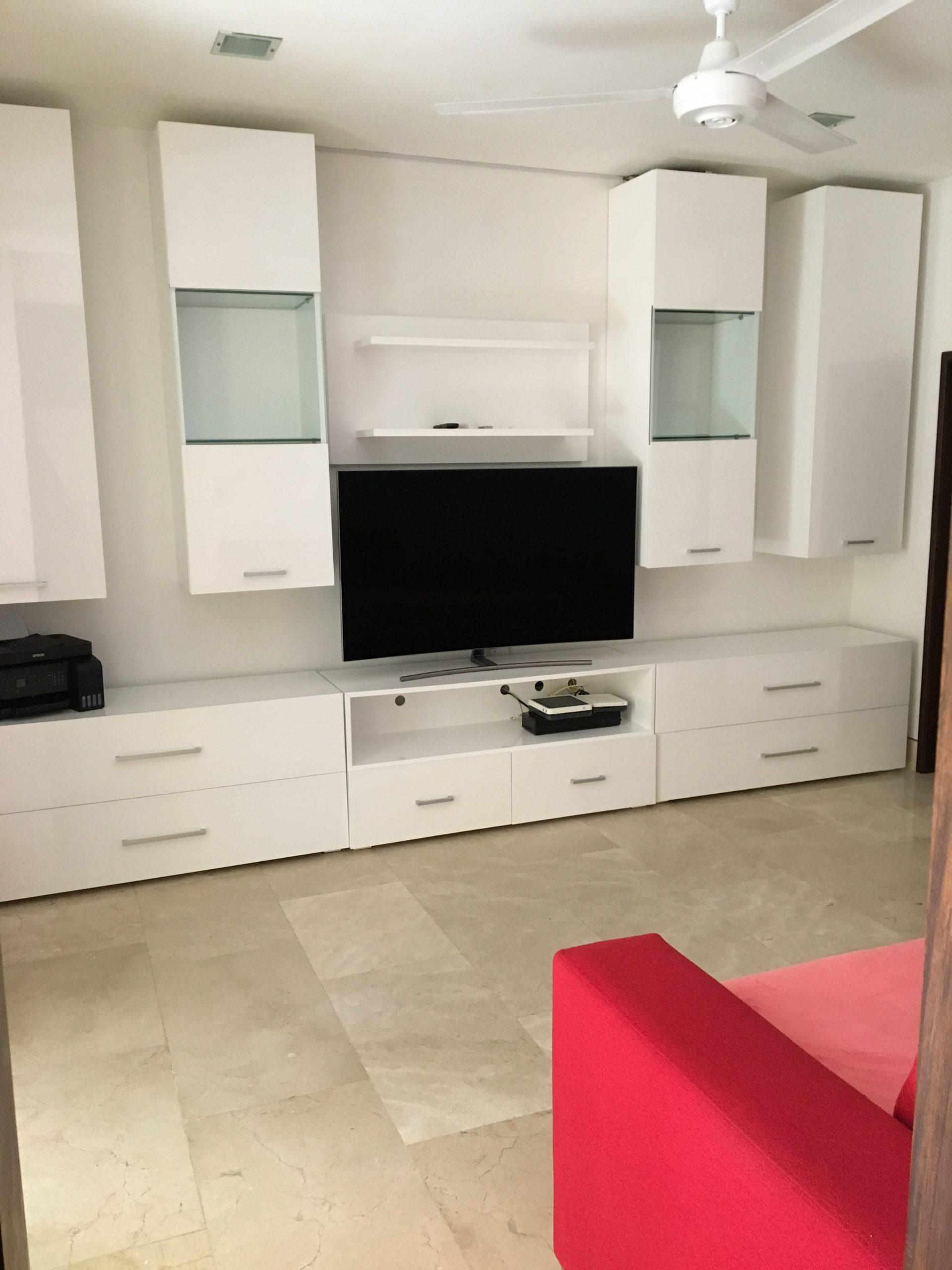 Proyecto Mueble Funcional Diseño De Mobiliario A Medida: Muebles De Entretenimiento Exclusivos- Casa Moblesa